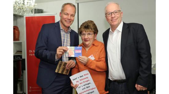 Christiane Hagen zu Gast bei Matthias Bartke und Matthias Miersch