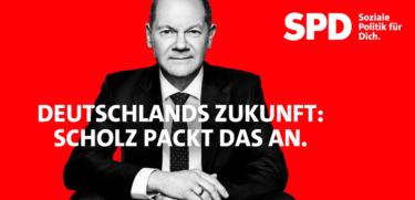 Deutschlands Zukunft: Scholz packt das an.
